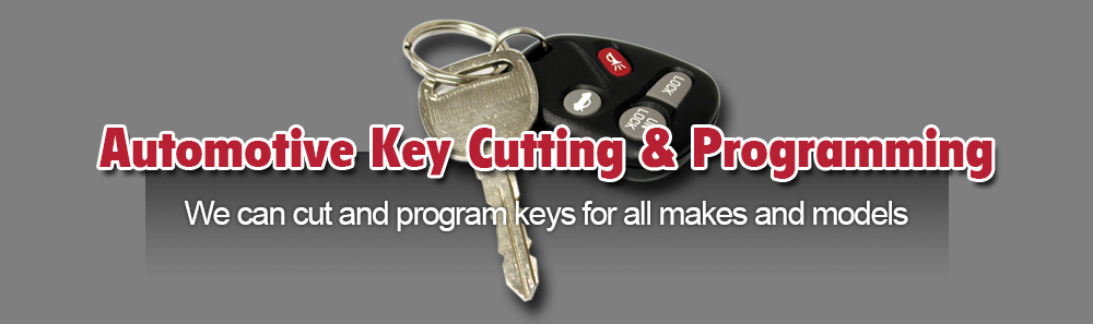 Automotive Key Cutting & Programming